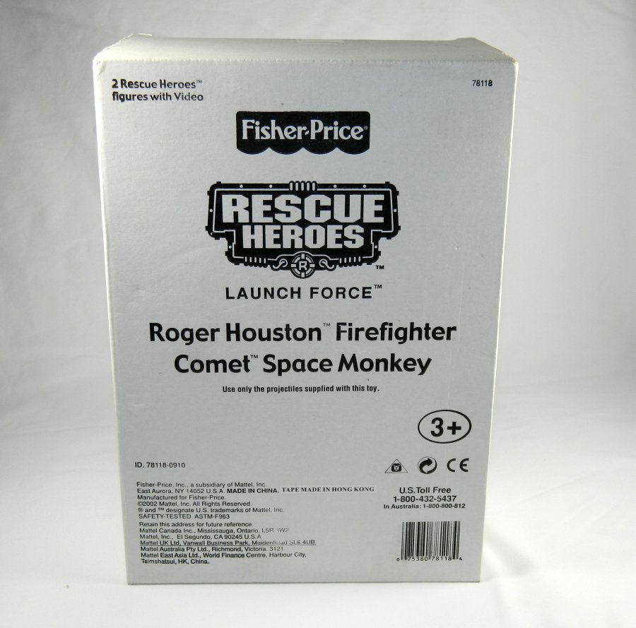 What's 'fisher price rescue hero roger houston with misprint on box' Worth? Picture