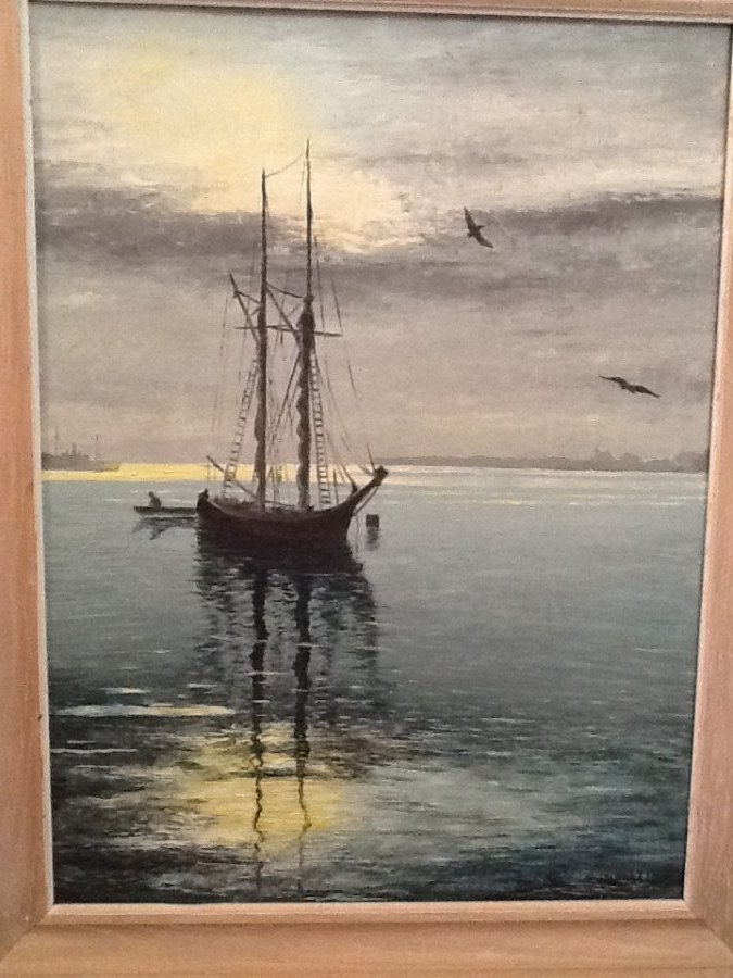 What's 'Painting by Saarinen 1951' Worth? Picture
