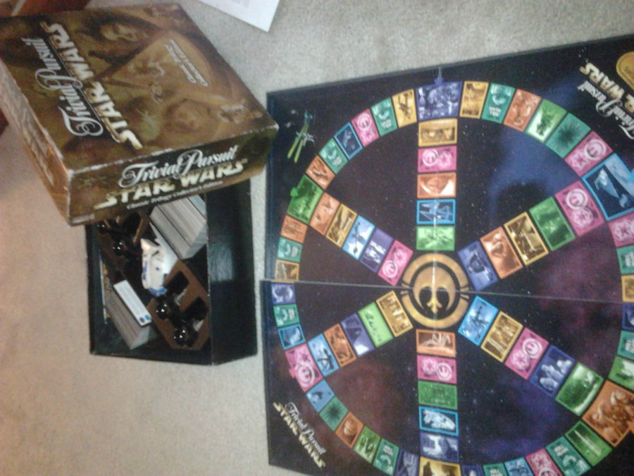What's 'collector's edition star wars trivial pursuit' Worth? Picture