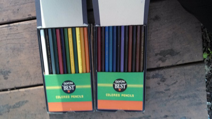 What's 'Dixon best colored pencils number 110' Worth? Picture