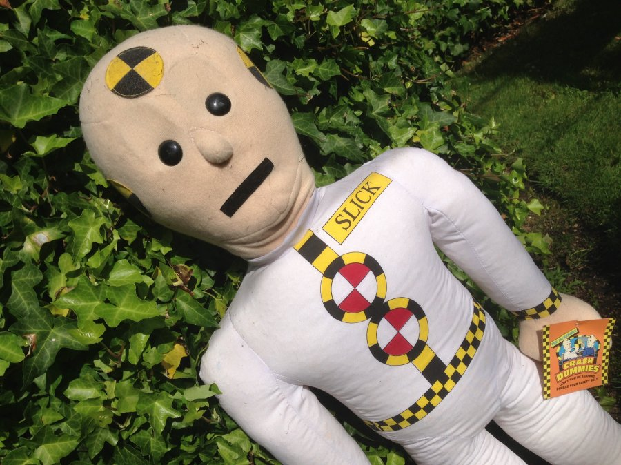 What's 'Soft incredible crash dummies' Worth? Picture