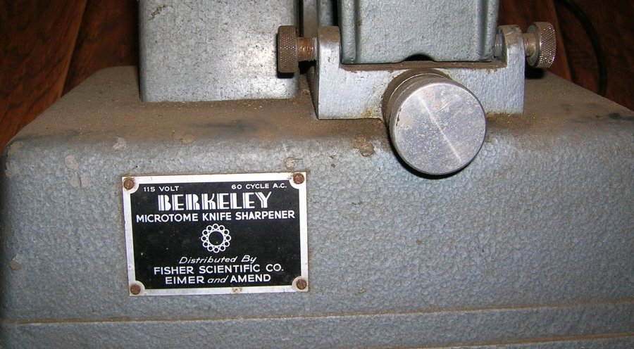What's 'Berkeley microtome knife sharpener' Worth? Picture
