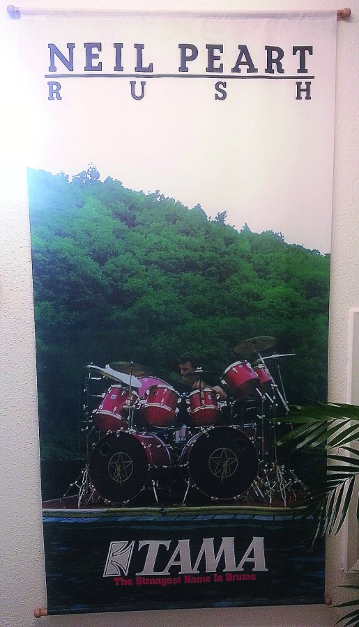 What's 'neil peart tama silk screen' Worth? Picture