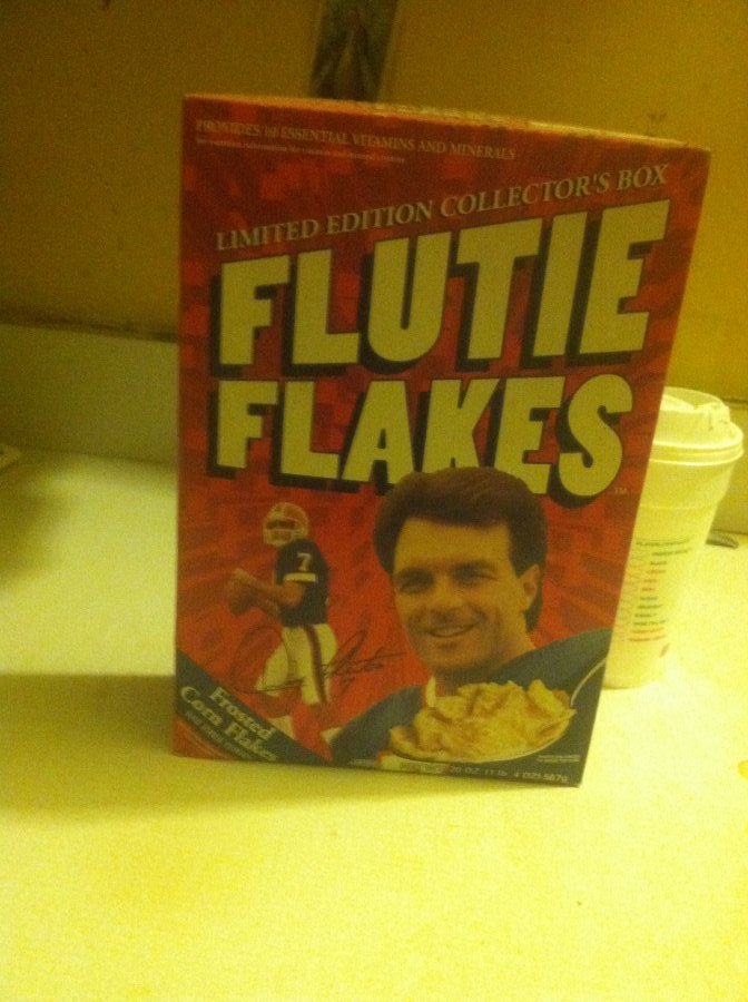 What's 'Kelloggs flutie flakes ' Worth? Picture