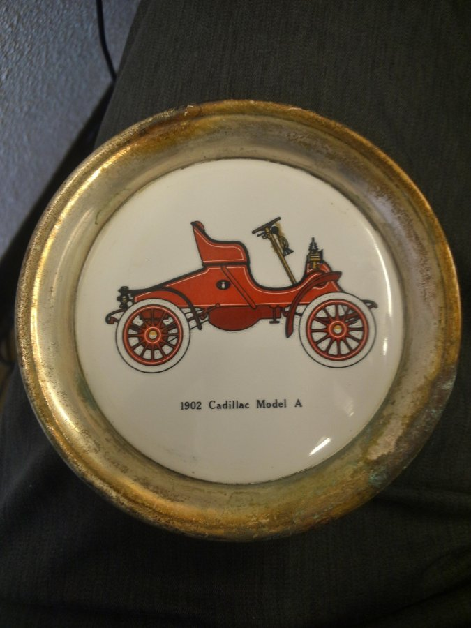 What's 'classic car coasters from the sixties' Worth? Picture