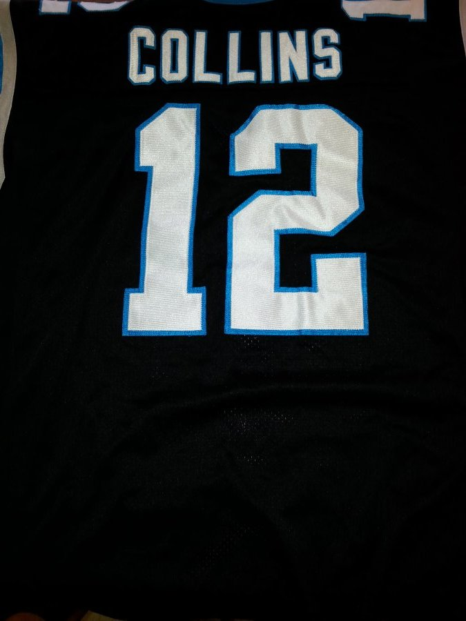 What's 'nfl Carolina Panthers jersey #12 Kerry Collins' Worth? Picture