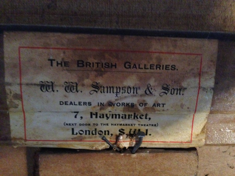 What's '1862 artist a johnston, burns & highlands mary painting' Worth? Picture