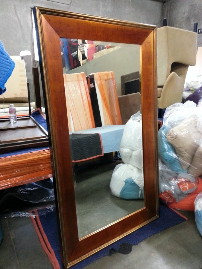 What's 'bombay hampton floor mirror' Worth? Picture