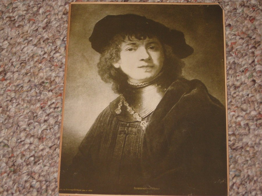 'Rembrandt - By himself Picture