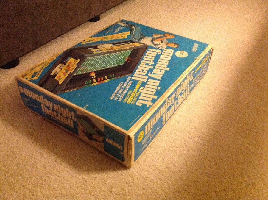 What's 'Abc Monday night football electronic roger staubach' Worth? Picture