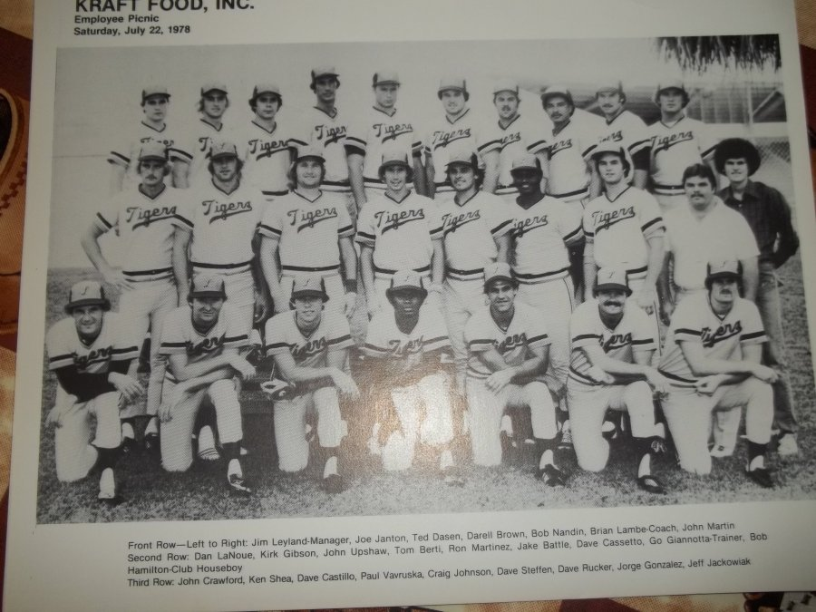 '1978 lakeland tigers team photo with Kirk Gibson' Worth? Picture