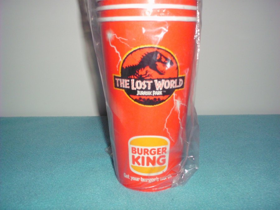 What's 'jurassic park the lost world burger king 50 new cups' Worth? Picture