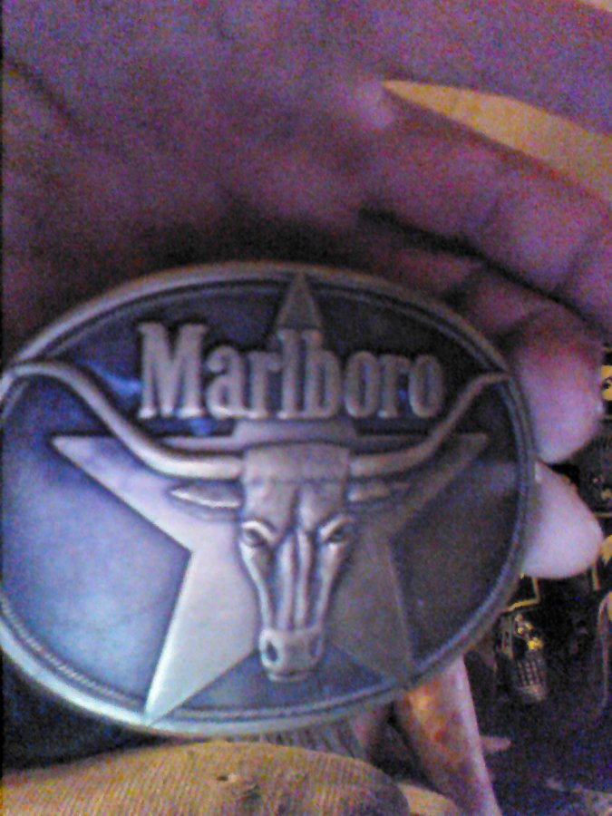 What's '1987 Marlboro belt buckle' Worth? Picture