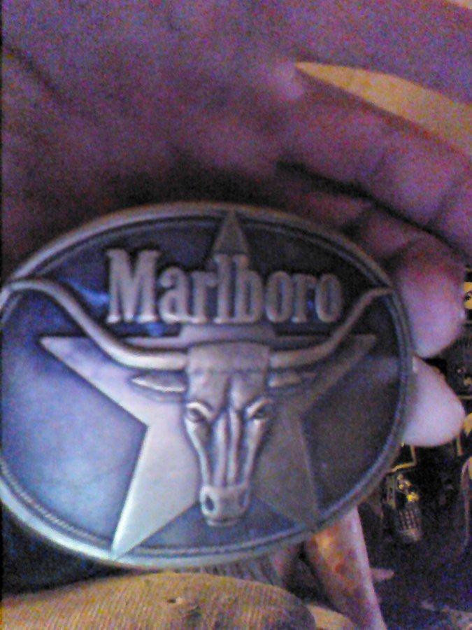 What's '1987 Marlboro belt buckle' Worth? Picture