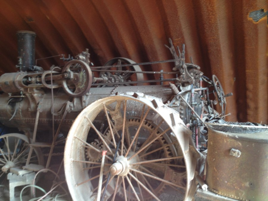 What's ' 	 Steam Engine Steam engine John Goodison Thresher Co Ltd model T37 ' Worth? Picture