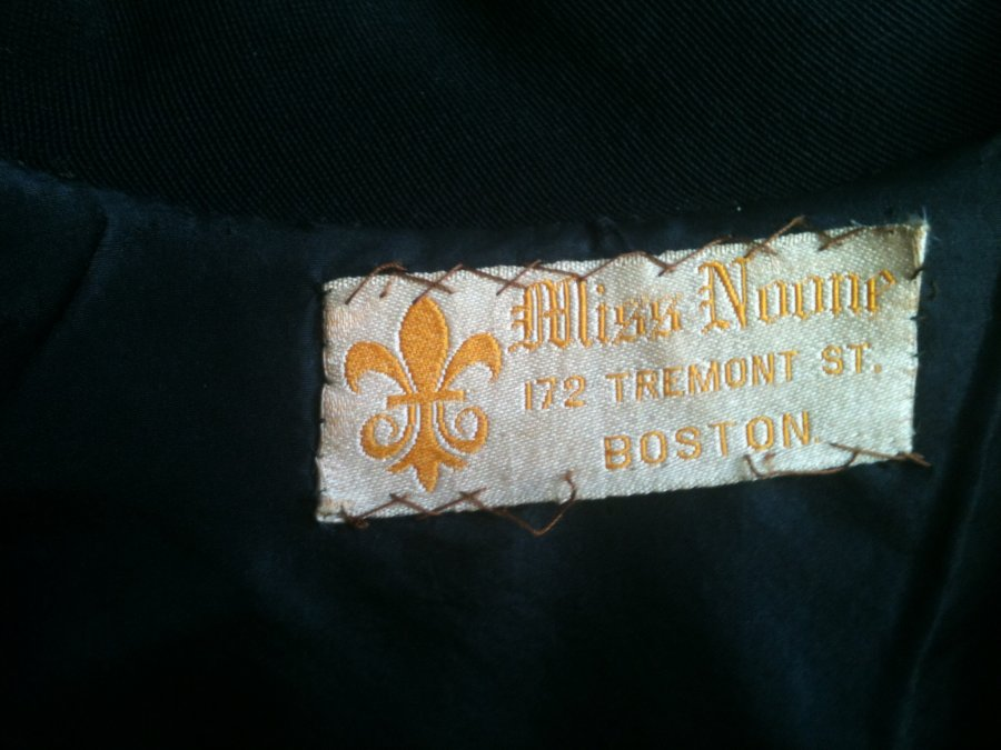 What's 'Miss noone coat from Tremont St. In Boston ' Worth? Picture