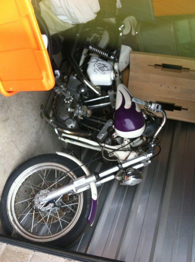1973 Harley Davidson sportster 1000 cc Picture