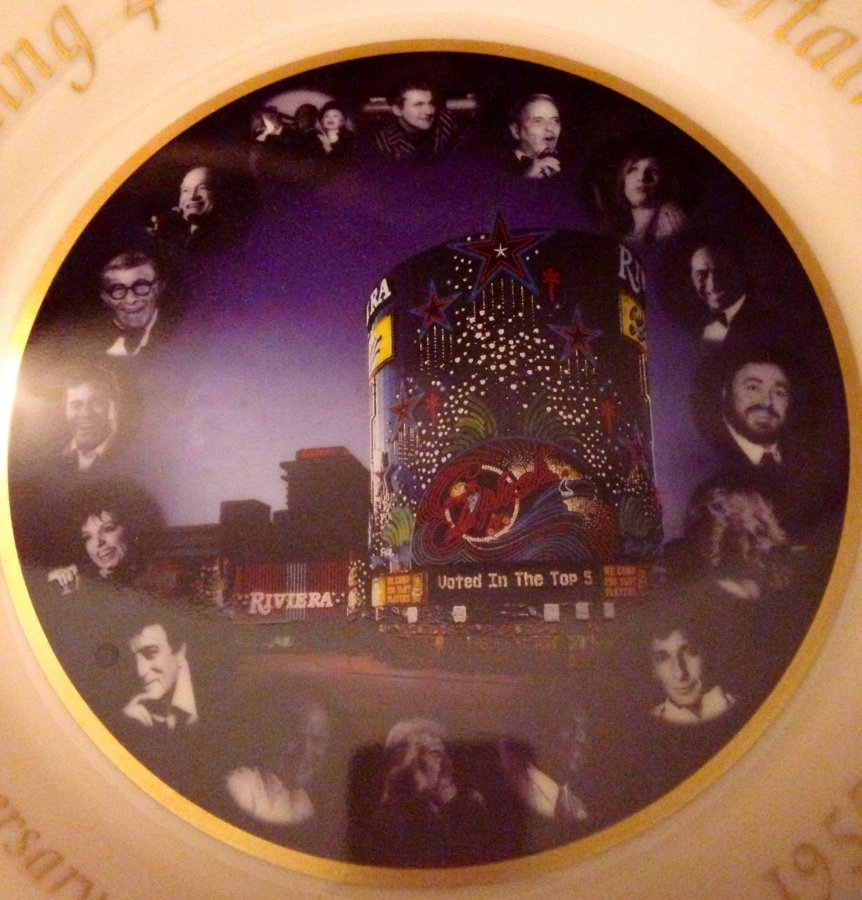 What's '40th anniversary Riviere Hotel and Casino gold trimmed Lenox No.1-300 collectors edition' Worth? Picture