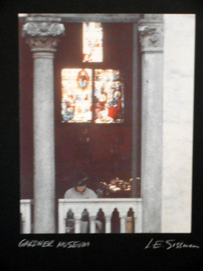 What's 'L.E. SISSMAN PHOTOGRAPHY SIGNED AND TITLED' Worth? Picture