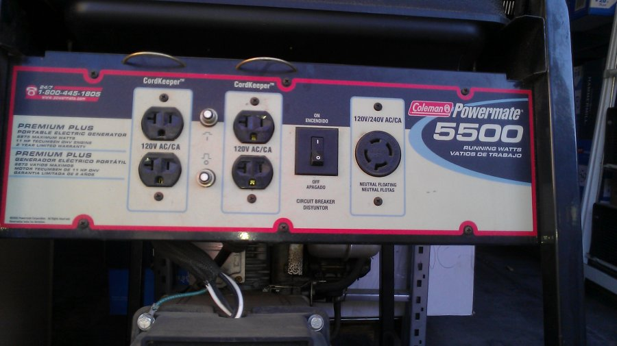 What's 'Coleman Powermate 5500 Gas Generator' Worth? Picture