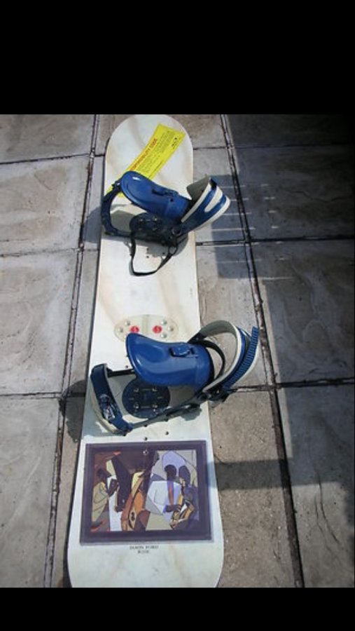 Ride snow board Picture