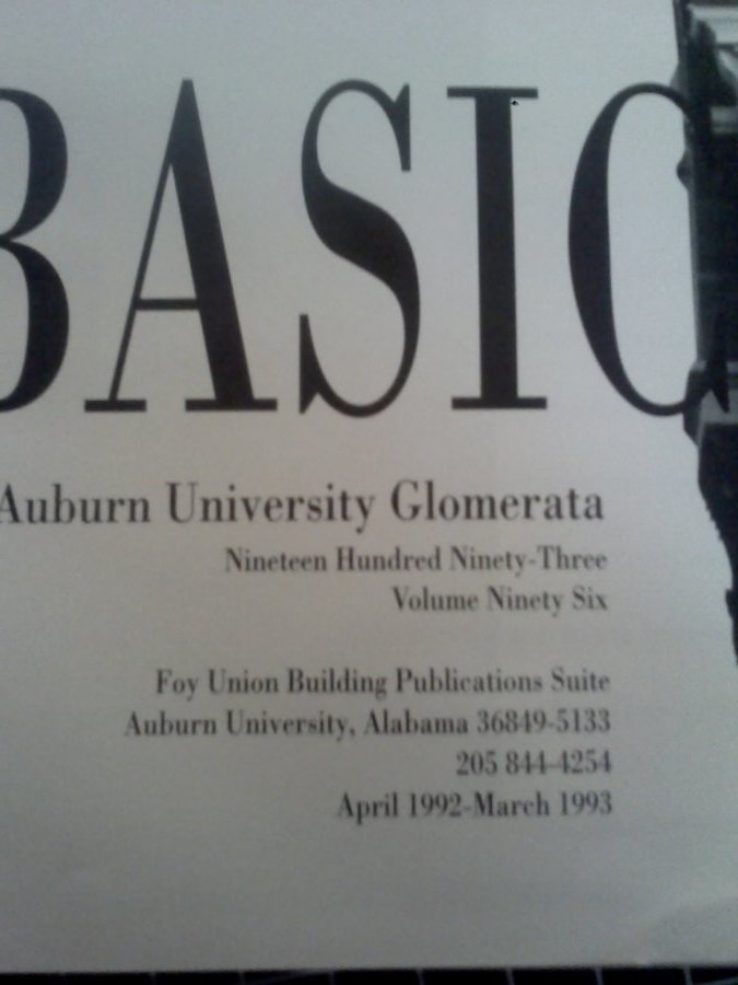 What's '1993 Auburn Univesity Glomerata' Worth? Picture