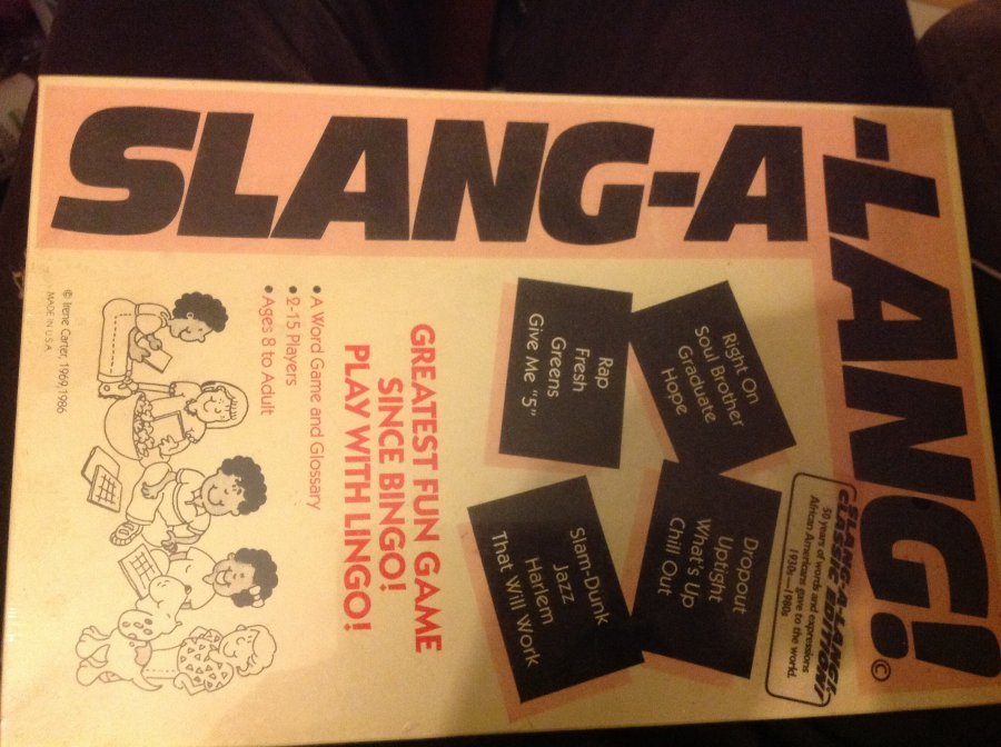 What's 'Slang-a-lang game' Worth? Picture