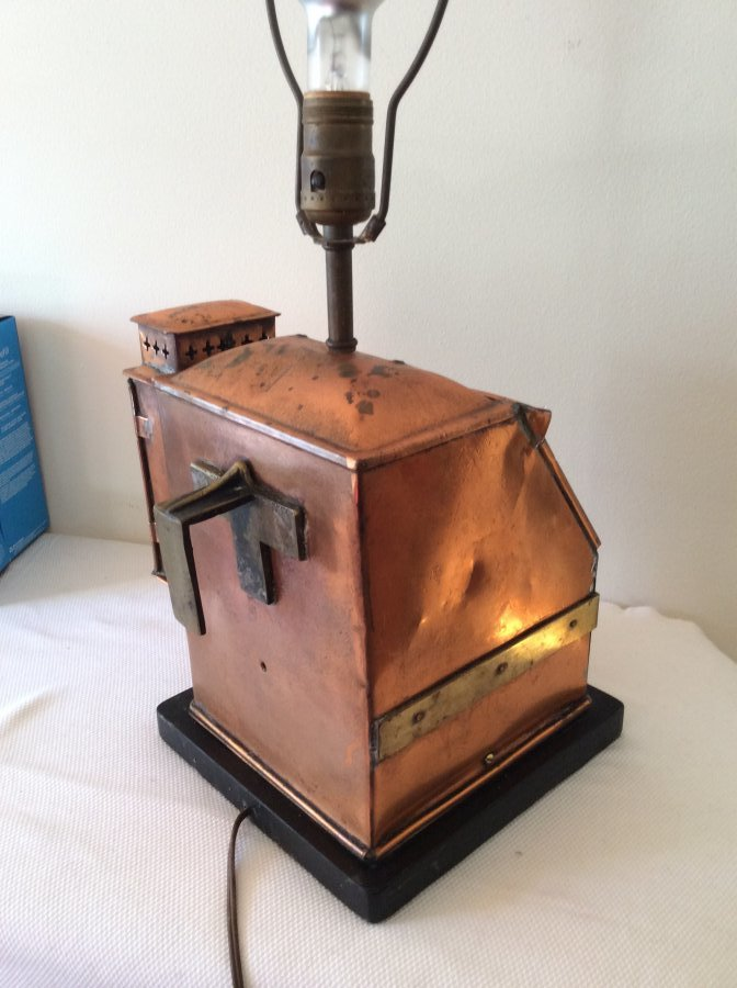 'Copper coal fired space heater' Worth? Picture