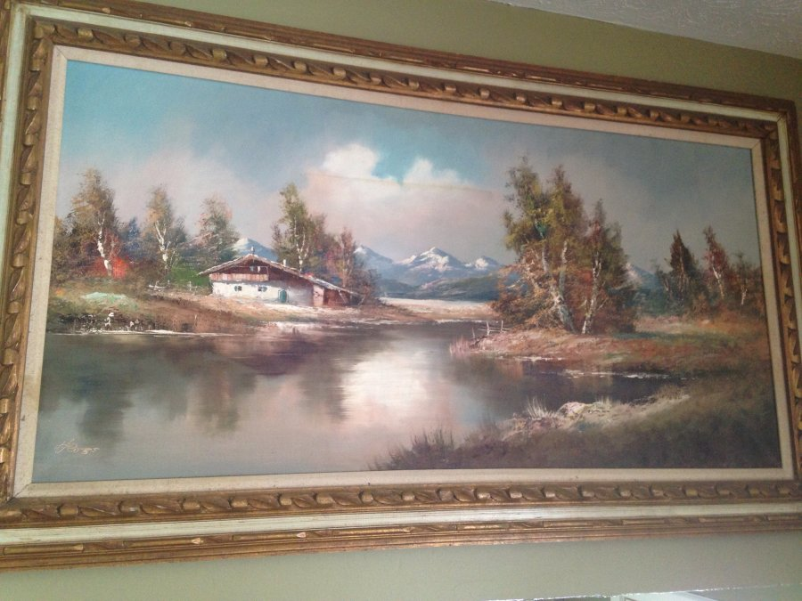 Whats My Paintings Worth?  Picture