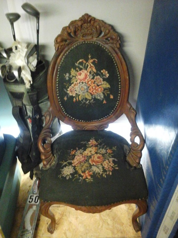 What's 'Antique chair' Worth? Picture