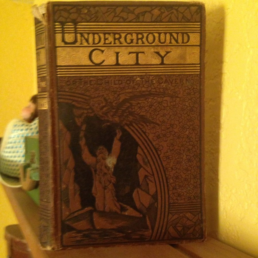 What's 'Underground city by Jules Verne' Worth? Picture