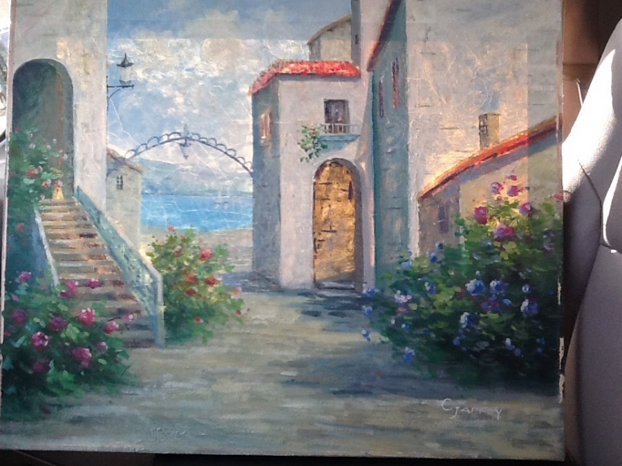 What's '20 x 24 C. Jaffey painting' Worth? Picture