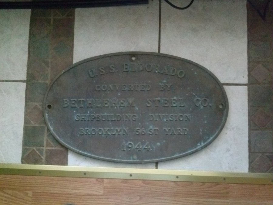 plaque USS EL DORADO Picture