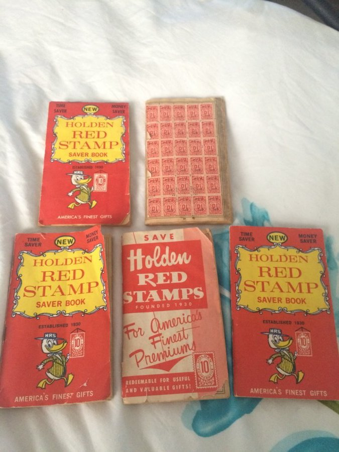 What's 'Holden Red Stamp Book' Worth? Picture
