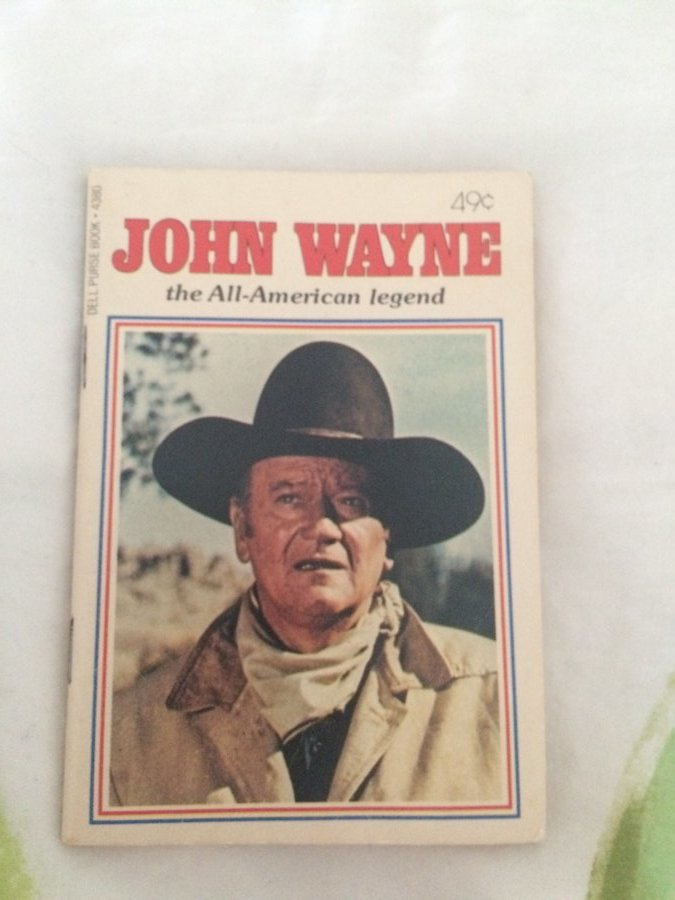 John Wayne mini book Picture
