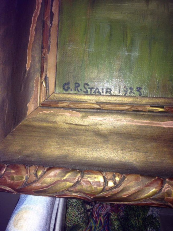 Old painting G.R. Stair  Picture