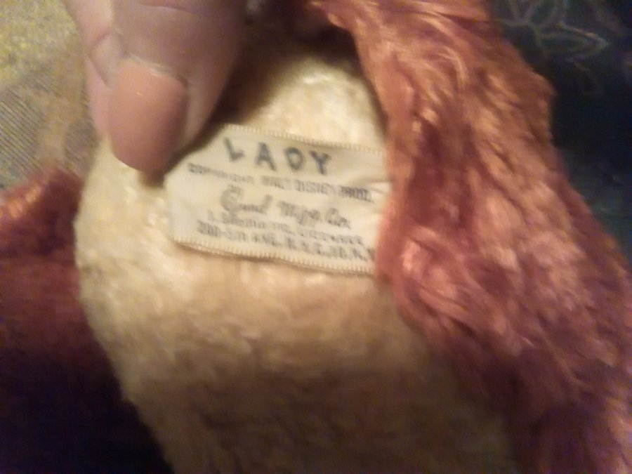 What's 'lady and the tramp doll' Worth? Picture