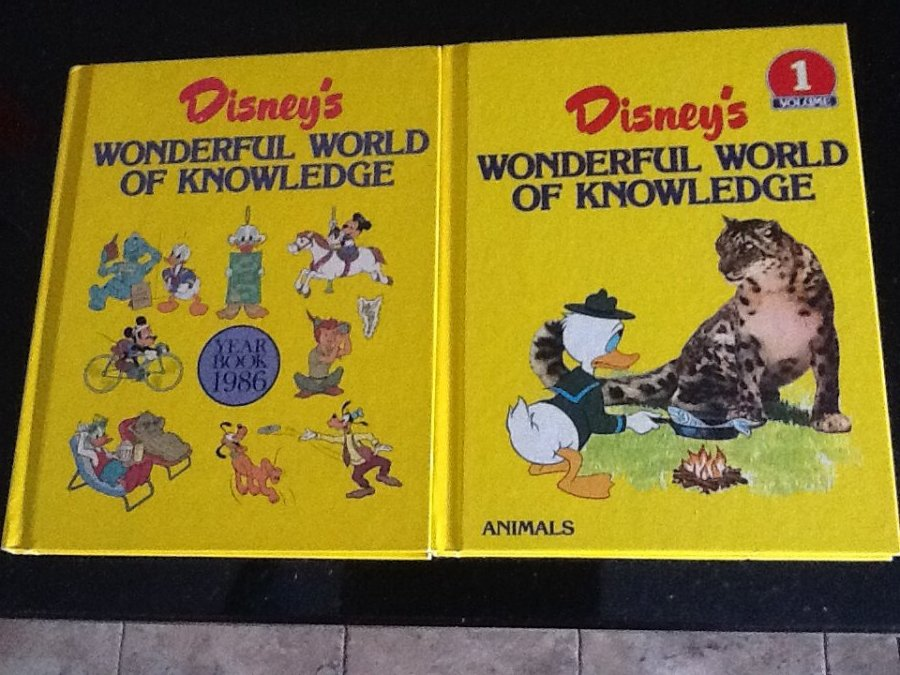 What's 'Disney's wonderful world of knowledge 1986 book collection' Worth? Picture