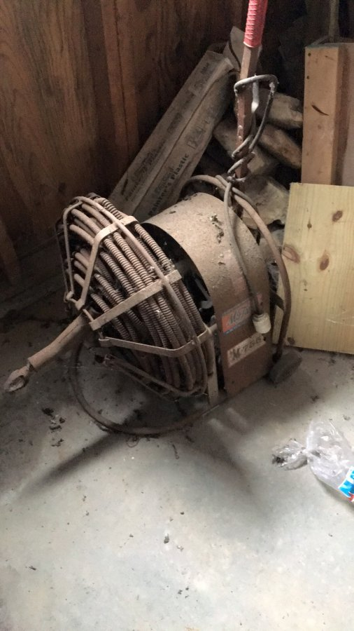 What's 'Old electric sewage cleaner' Worth? Picture
