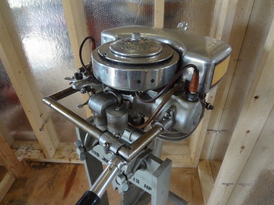 What's '1929 Johnson Seahorse 7.15hp K-45 outboard motor' Worth? Picture