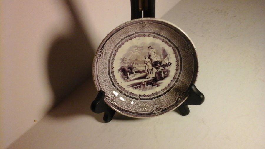 John Holland Tea Cup and Saucer ca.1852 Picture