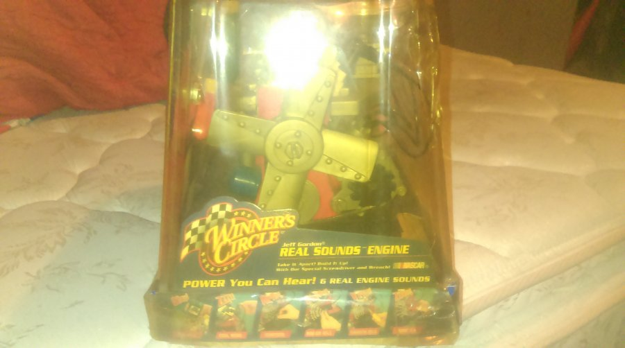 What's 'Four cyl motor nascar  winners circle toy' Worth? Picture
