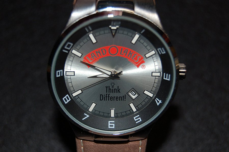 What's 'Land o lakes think different wrist watch' Worth? Picture