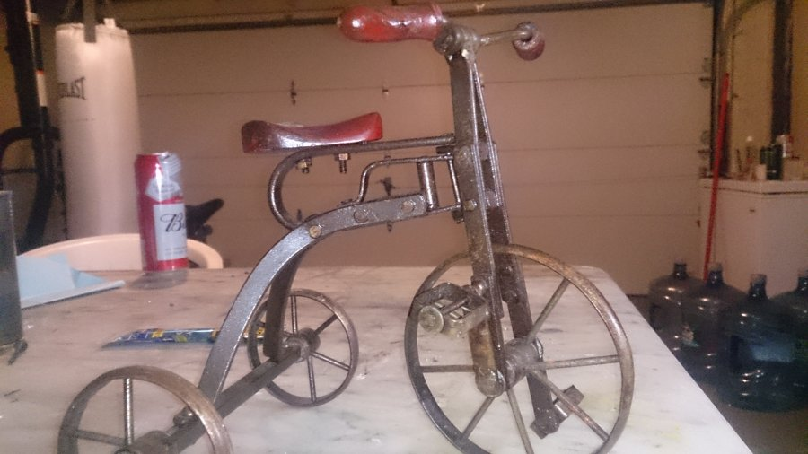What's 'Vintage 1900 tricycle ' Worth? Picture