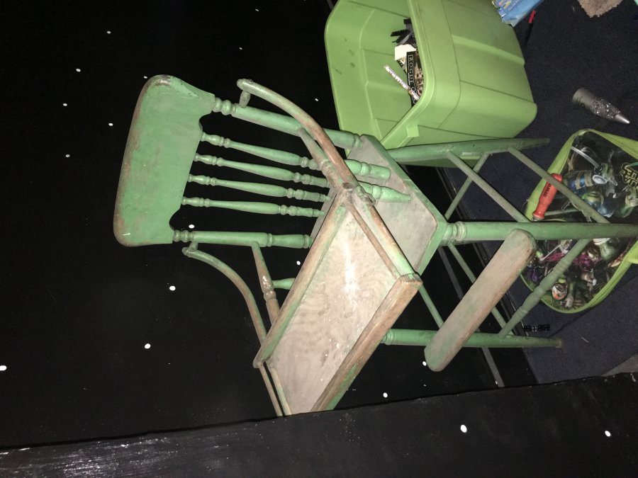 Old high chair (full sized, not for a doll) Picture