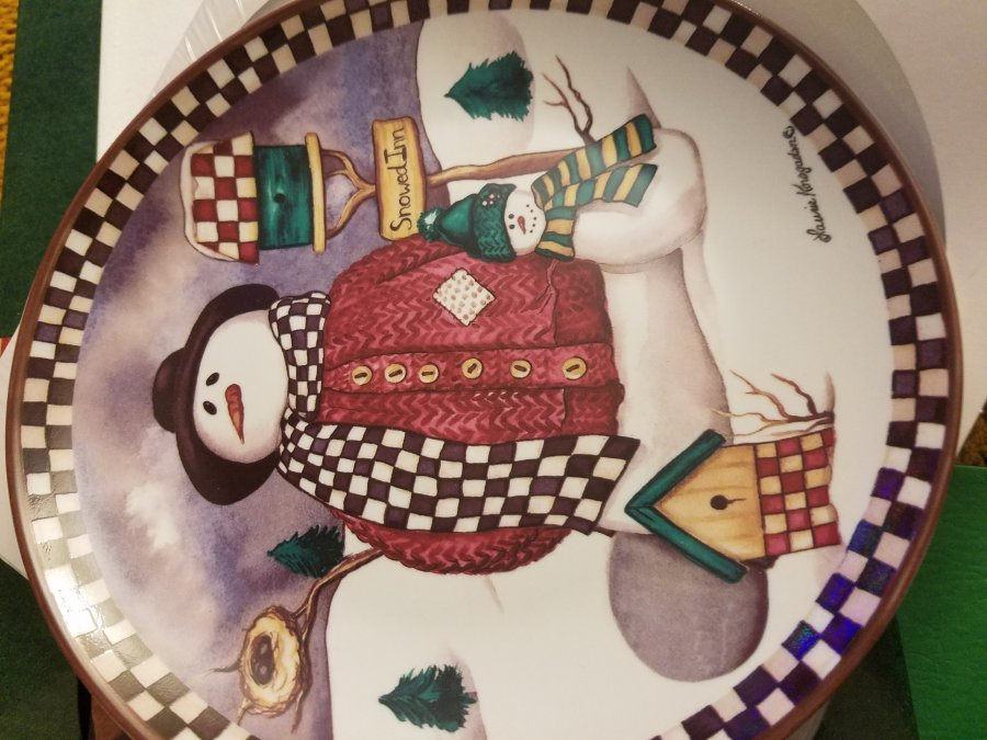 What's 'Laurie Korsgaden's Snowed Inn plate' Worth? Picture
