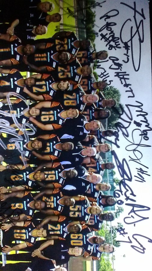 Are these Arizona Rattlers signed photos worthmoney Picture