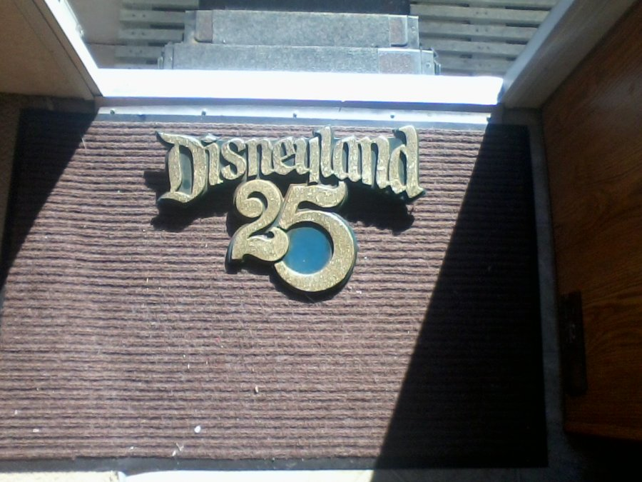 Original Disney 25 year sign Picture