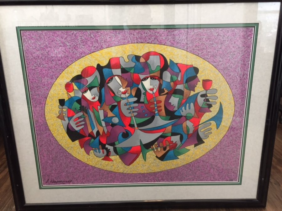 What's 'Krasnyansky ceremony serigraph ' Worth? Picture