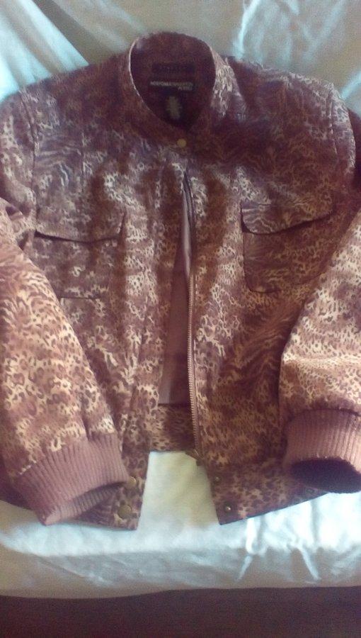 What's 'Norton mcnaughton  petites size 10 p stretch leopard jacket' Worth? Picture